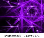 Purple Abstract Fantasy Fracta...