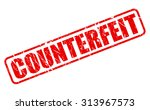 counterfeit red stamp text on... | Shutterstock .eps vector #313967573