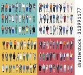 jobs people diversity work... | Shutterstock . vector #313991177