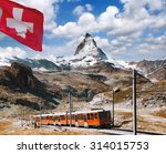 matterhorn peak with a train...