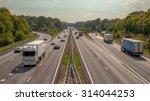 right hand side evening traffic ... | Shutterstock . vector #314044253