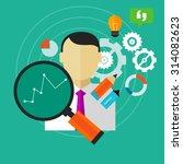 performance improvement... | Shutterstock .eps vector #314082623