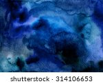 hand painted watercolor... | Shutterstock . vector #314106653