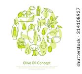 olive oil creative concept.