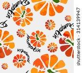 pumpkin pattern fresh... | Shutterstock .eps vector #314139947
