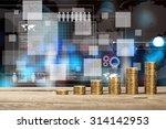 finance graphs. | Shutterstock . vector #314142953