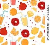 bright vector seamless... | Shutterstock .eps vector #314183333