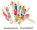 lift your hands in the air | Shutterstock . vector #314220437