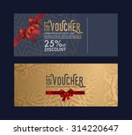 the gift card is elegant ... | Shutterstock .eps vector #314220647