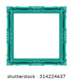 picture frame wood carved old... | Shutterstock . vector #314224637