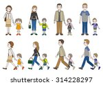 parent and child | Shutterstock .eps vector #314228297