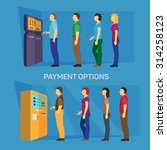 payment options banking finance ... | Shutterstock .eps vector #314258123