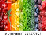 fresh food background....   Shutterstock . vector #314277527
