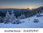 Fantastic Winter Landscape Wit...