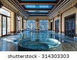 indoor pool   Shutterstock . vector #314303303