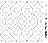 pattern with seamless  ornament....   Shutterstock . vector #314318213