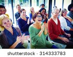 audience applaud clapping... | Shutterstock . vector #314333783