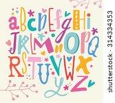 abc for kids | Shutterstock .eps vector #314334353