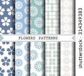 Flower Vector Pattern Pattern...