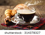 black coffee | Shutterstock . vector #314378327