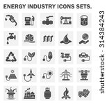energy industry icons sets. | Shutterstock .eps vector #314384243