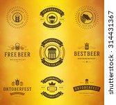 beer festival oktoberfest... | Shutterstock .eps vector #314431367