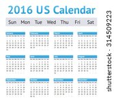 2016 us american english... | Shutterstock .eps vector #314509223