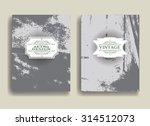 abstract flyer in grunge style. ... | Shutterstock .eps vector #314512073