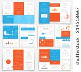 different infographic elements... | Shutterstock .eps vector #314518667