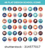 set of vector modern flat... | Shutterstock .eps vector #314577017