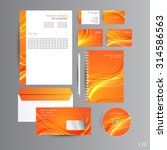 orange abstract identity | Shutterstock .eps vector #314586563