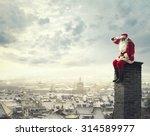 on the chimney | Shutterstock . vector #314589977