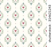 seamless floral pattern with... | Shutterstock .eps vector #314621243