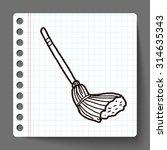 mop doodle   Shutterstock .eps vector #314635343