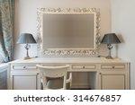 dressing table in bedroom...   Shutterstock . vector #314676857