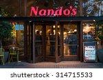 london   june 20  2015  nando's ... | Shutterstock . vector #314715533