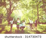 green business team... | Shutterstock . vector #314730473