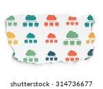 cloud networking concept ... | Shutterstock . vector #314736677