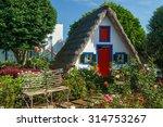 traditional house in santana ... | Shutterstock . vector #314753267