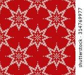 christmas sweater design.... | Shutterstock .eps vector #314769977