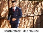 elegant handsome man in...   Shutterstock . vector #314782823