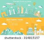 flat design illustration... | Shutterstock .eps vector #314815157
