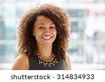 African American Businesswoman...