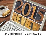 2015 review   annual review or... | Shutterstock . vector #314931353