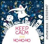 Merry Christmas Doodle Greetin...