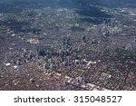 Aerial View Of Metro Manila ...