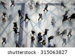 commuters generic background ... | Shutterstock . vector #315063827