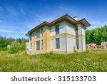 suburban house | Shutterstock . vector #315133703