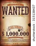 wanted vintage western poster ...