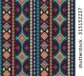 ethnic seamless pattern. ethno... | Shutterstock .eps vector #315152237